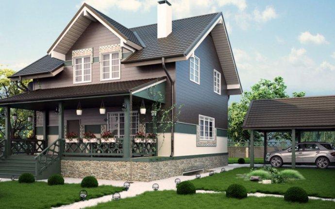 Частный дом дизайн фото