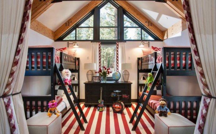 Детская комната в частном доме - 65 фото красивого дизайна в