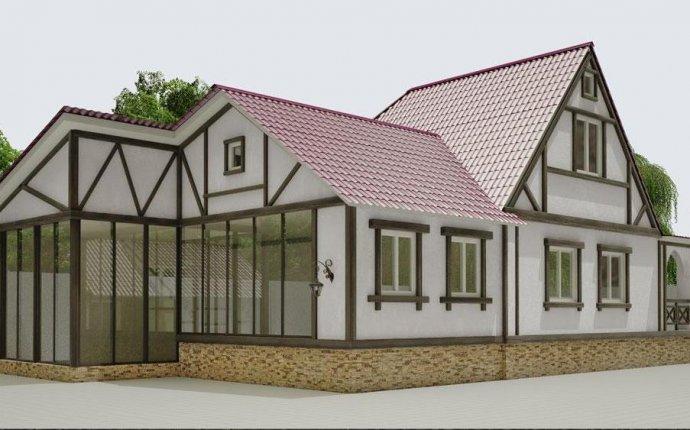 Дизайн частных одноэтажных домов » Современный дизайн