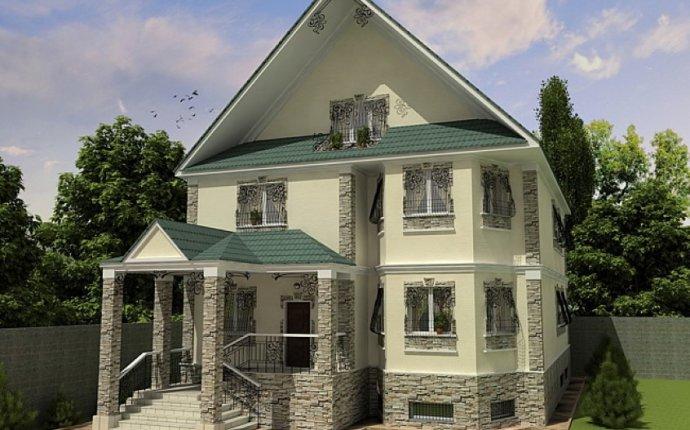 Дизайн частного дома снаружи фото » Картинки и фотографии дизайна