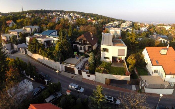 дизайн частного дома в Братиславе, Словакия