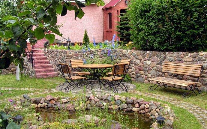 Дизайн двора частного дома - Про ремонт