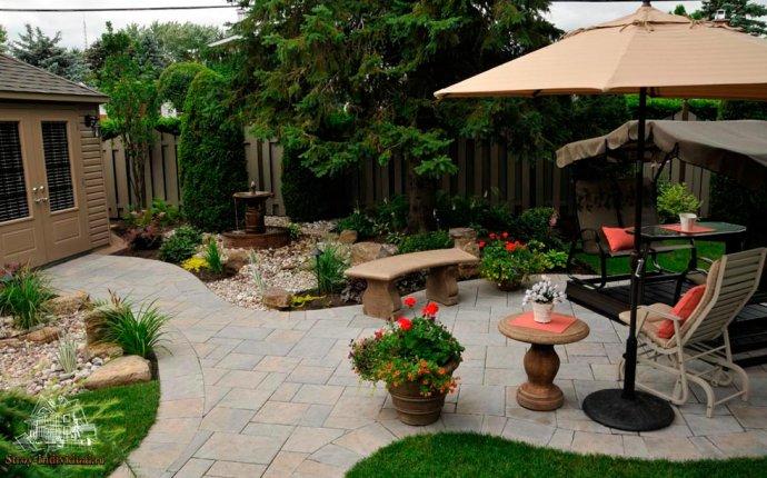 Дизайн двора частного дома своими руками, фото современных дворов