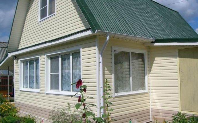 Дизайн фасадов частных домов фото из сайдинга