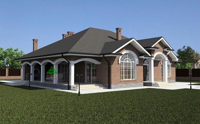 Дизайн фасадов частных домов фото одноэтажных домов