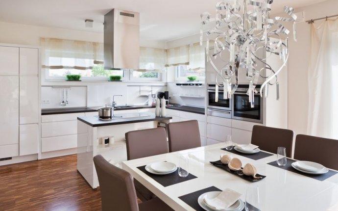 Дизайн гостиной кухни в частном доме (42 фото): видео-инструкция