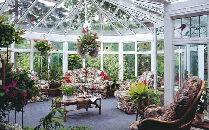 Дизайн и оформление зимнего сада в частном доме своими руками
