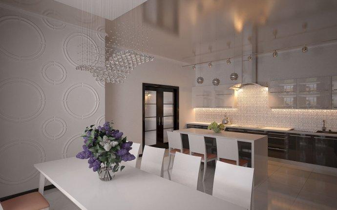 Дизайн кухни в частном доме, автор Алекс Линн, конкурс кухня в