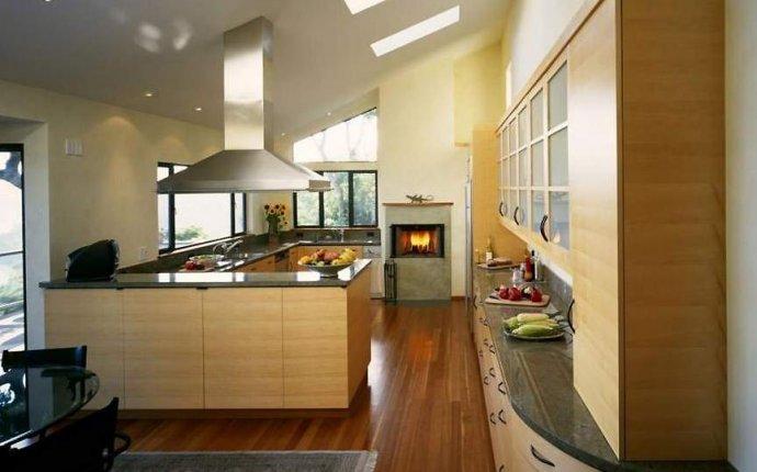 Дизайн кухни в своем доме с газовым котлом - Дизайн кухни с