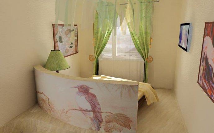дизайн маленькой спальни в частном доме » Лучший креативный дизайн