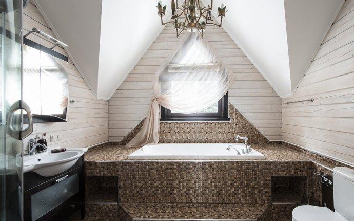 Дизайн ванной комнаты в загородном доме. Дизайн интерьера ванной
