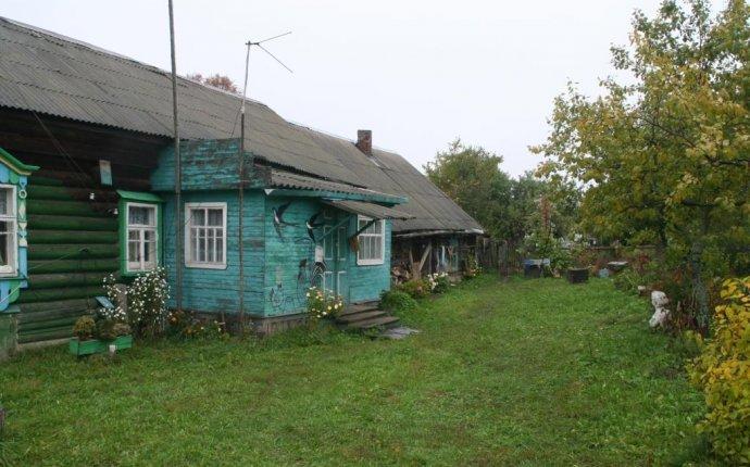 Двор у деревенского дома — Bloger.Ru