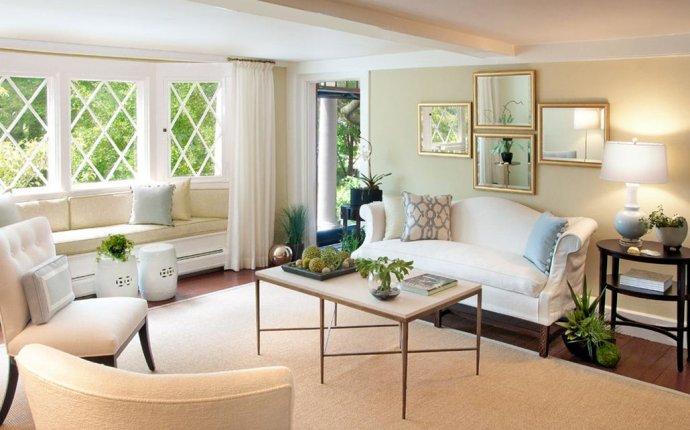 Гостиная с эркером: оригинальный интерьер в квартире и частном