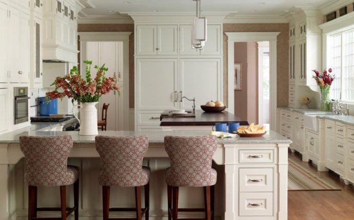 Интерьер кухни в частном доме: узкая, квадратная, проходная и