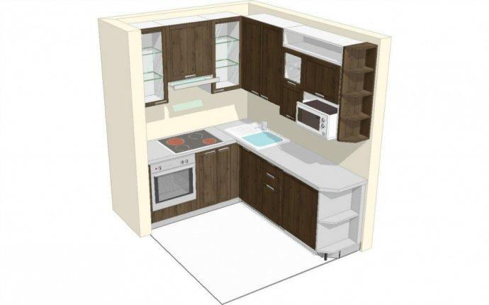 кухни 7 кв.м фото с уголком