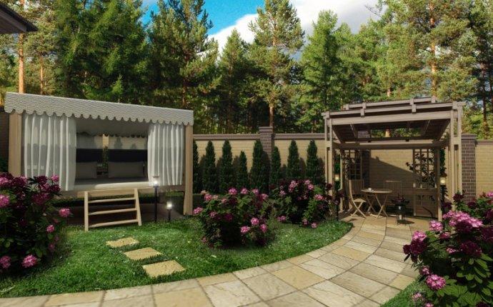 Ландшафтный дизайн частного дома. Высокое качество услуг в области