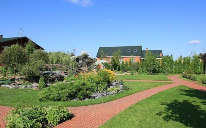 Ландшафтный дизайн территории частного дома в Картмазово