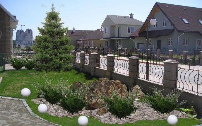 Ландшафтный дизайн входной зоны частного дома фото