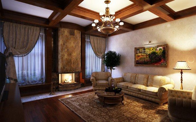 маленькой гостиной в частном доме фото