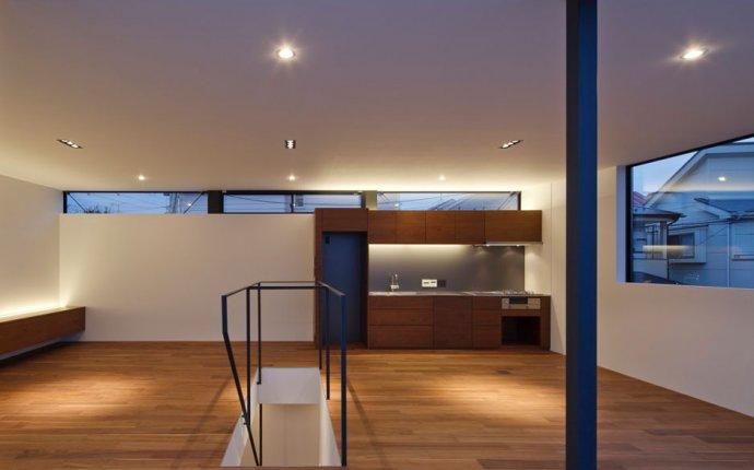 Минимализм в дизайне интерьера - частный дом в Японии - instaHOME.ru