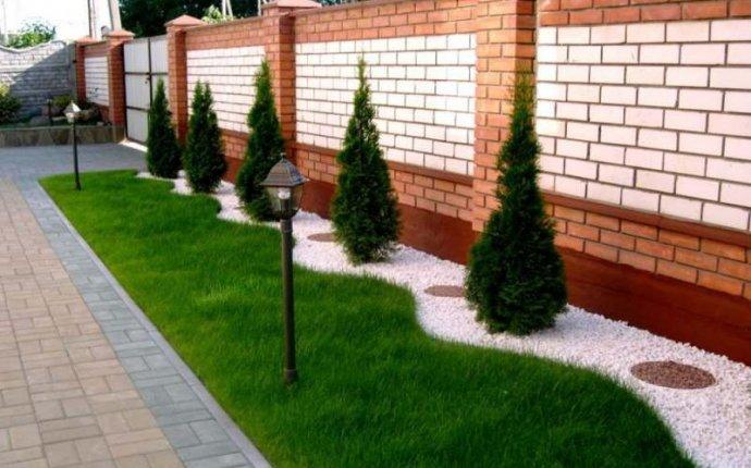 оформление двора частного дома своими руками фото » Улетный дизайн
