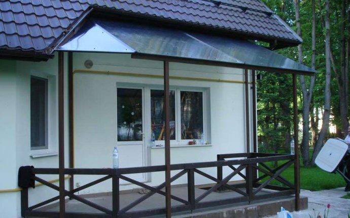 Проект крыльца для частного дома: фото