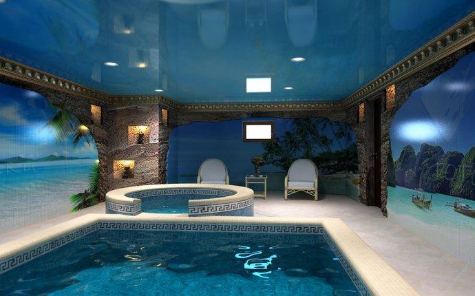 в частном доме сделать бассейн