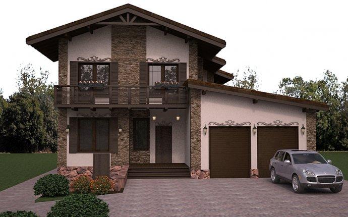 внешний дизайн частного дома » Лучший креативный дизайн